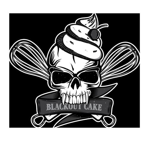 Blackout Cake Logo
