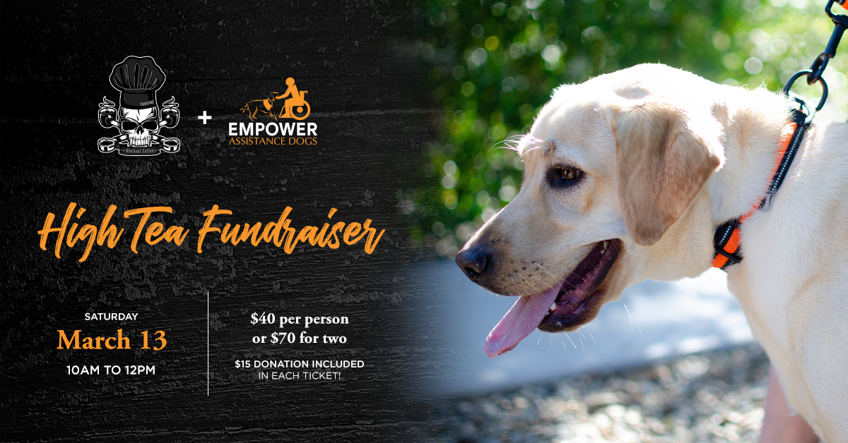 High Tea Fundraiser for Empower Assistance Dogs